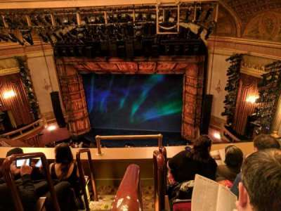 St. James Theatre, section: BALCR, row: D, seat: 2