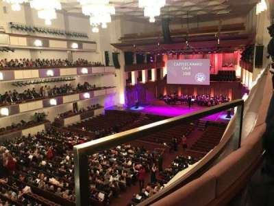 The Kennedy Center Concert Hall, section: Tier 1, row: A, seat: 32