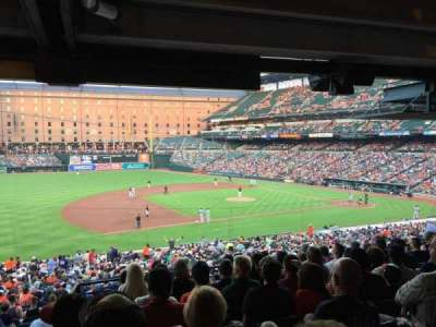Oriole Park at Camden Yards, section: 55, row: 9, seat: 22