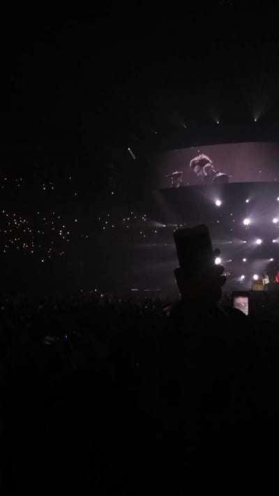 Infinite Energy Arena, section: 104, row: C, seat: 12