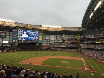 Miller Park, section: 222, row: 12, seat: 13