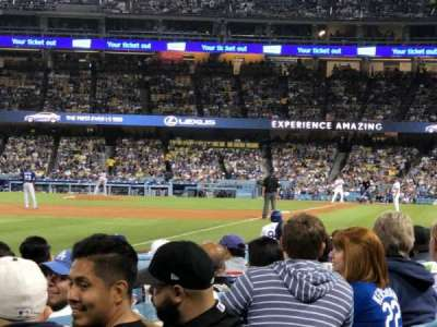 Dodger Stadium, section: 45FD, row: A, seat: 20