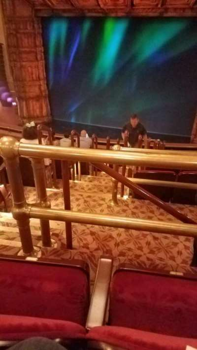 St. James Theatre, section: Mezz Right, row: K, seat: 4