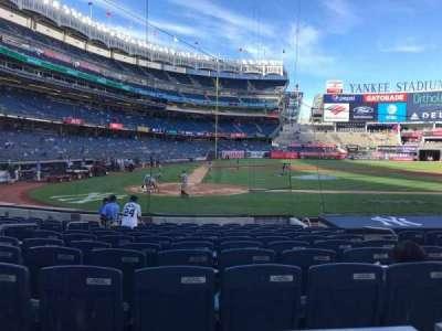 Yankee Stadium section 117b
