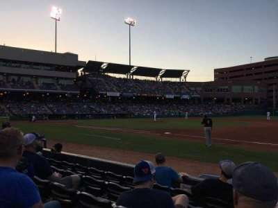 Chickasaw Bricktown Ballpark, section: 116, row: E, seat: 7
