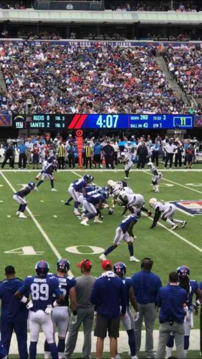 MetLife Stadium section 114