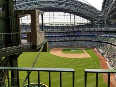 Miller Park, section: 442, row: 4ADA, seat: 16