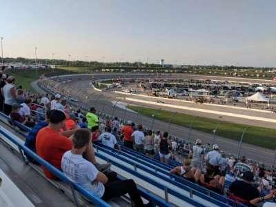 Iowa Speedway, section: 403, row: 13, seat: 3