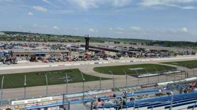 Iowa Speedway, section: 403, row: 13, seat: 3