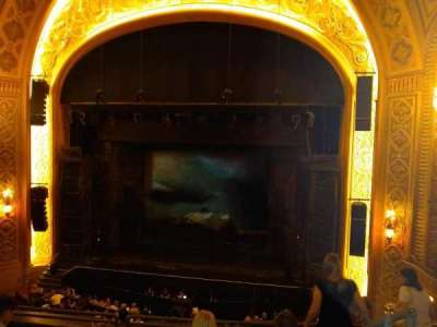 Paramount Theatre (Seattle), section: MEZ12, row: A, seat: 2