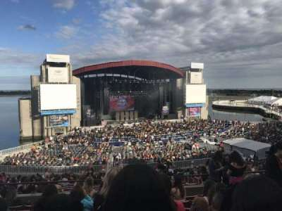 Jones Beach Theater, section: 12r, row: HH, seat: 9