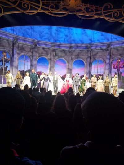 Broadhurst Theatre, section: Orchestra, row: K, seat: 104