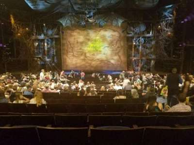 Gershwin Theatre, section: Orchestra, row: V, seat: 115