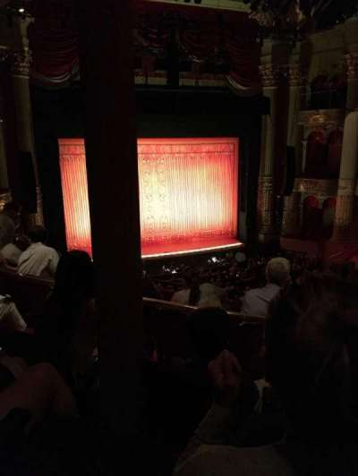 Academy of Music, section: F, row: C, seat: 17