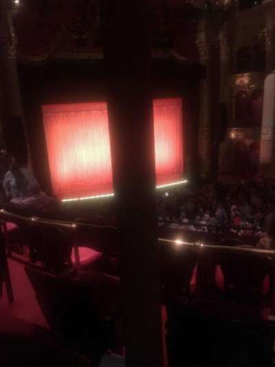 Academy of Music, section: F, row: C, seat: 19