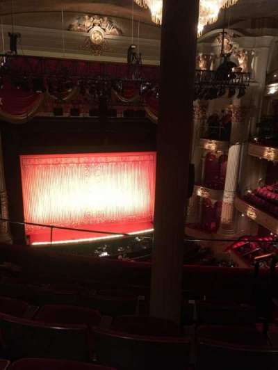 Academy of Music, section: Family Circle Section F, row: E, seat: 7