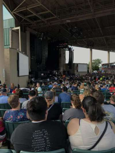 Ruoff Home Mortgage Music Center, section: D, row: H, seat: 38