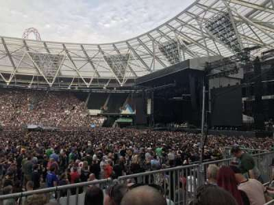 London Stadium, section: 110, row: 11, seat: 263