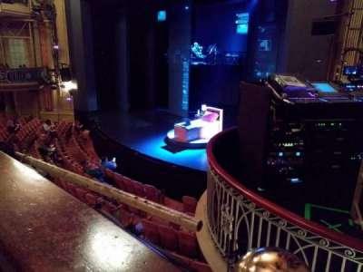 Music Box Theatre, section: Mezzanine (MezzPV), row: A, seat: 26