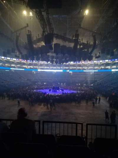 The O2 Arena, section: 116, row: R, seat: 486