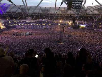 London Stadium, section: 235, row: 60, seat: 242