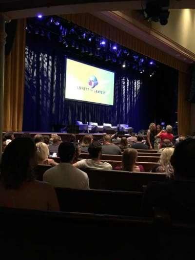 Ryman Auditorium, section: MF7, row: P, seat: 6