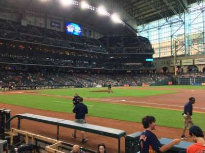 Minute Maid Park, section: 127, row: 6, seat: 8