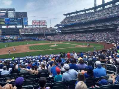 Citi Field, section: 122, row: 23, seat: 5
