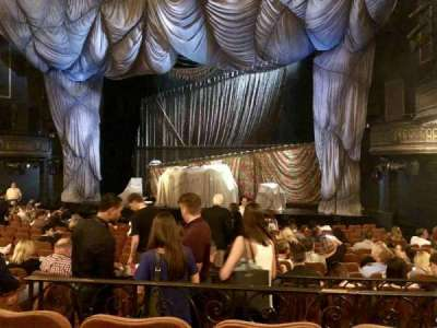 Majestic Theatre, section: ORCH, row: M, seat: 10