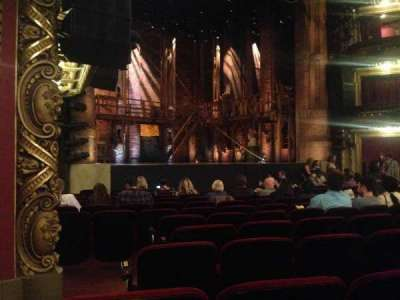 CIBC Theatre, section: Orch-L, row: N, seat: 23