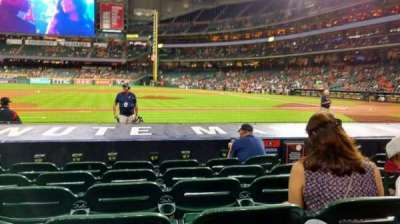 Minute Maid Park, section: 113, row: 10, seat: 14