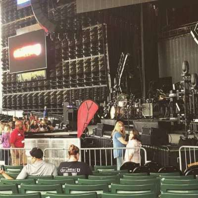 DTE Energy Music Theater, section: Rt3, row: L, seat: 7