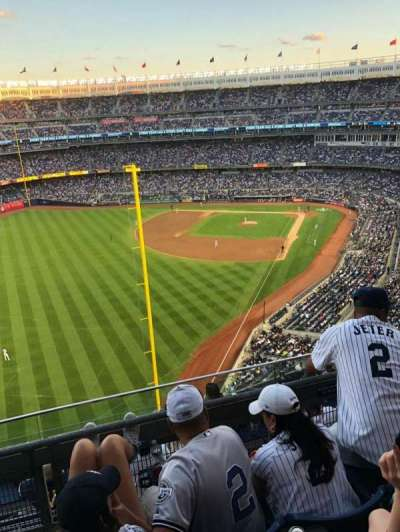 Yankee Stadium, section: 431, row: 3, seat: 5