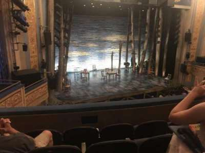 Gerald Schoenfeld Theatre, section: Left Mezz, row: D, seat: 9-11