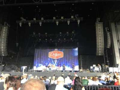 Dos Equis Pavilion, section: 101, row: N, seat: 14