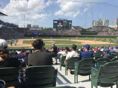 Wrigley Field section 121