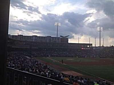 BB&T Ballpark (Charlotte) section 102