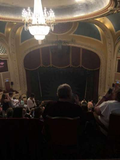 Orpheum Theatre (Minneapolis), section: Balcony section 6, row: Row Q, seat: 6