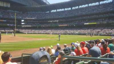 Safeco Field, section: 141, row: 6, seat: 2