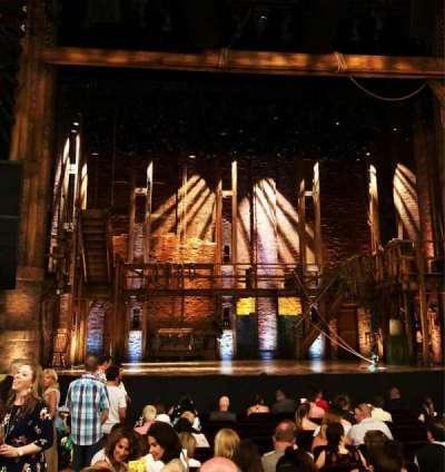 CIBC Theatre, section: Orchestra C, row: S, seat: 103