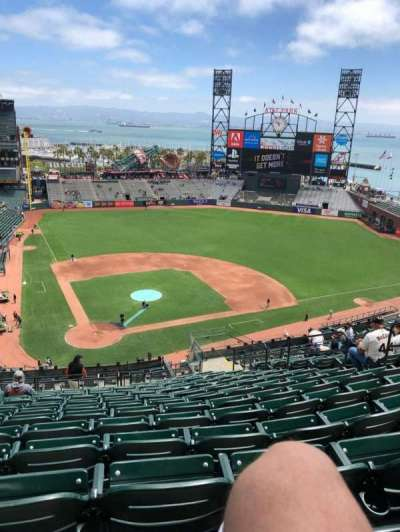 AT&T Park section VR312