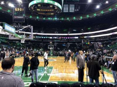 TD Garden section Loge 17