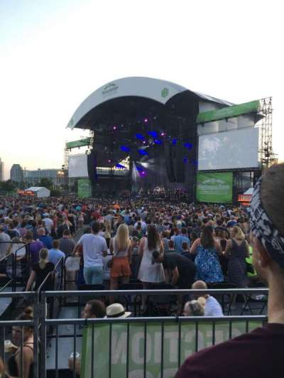 Huntington Bank Pavilion at Northerly Island, section: 303, row: B, seat: 9