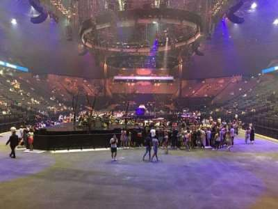 AccorHotels Arena, section: A, row: 24, seat: 4