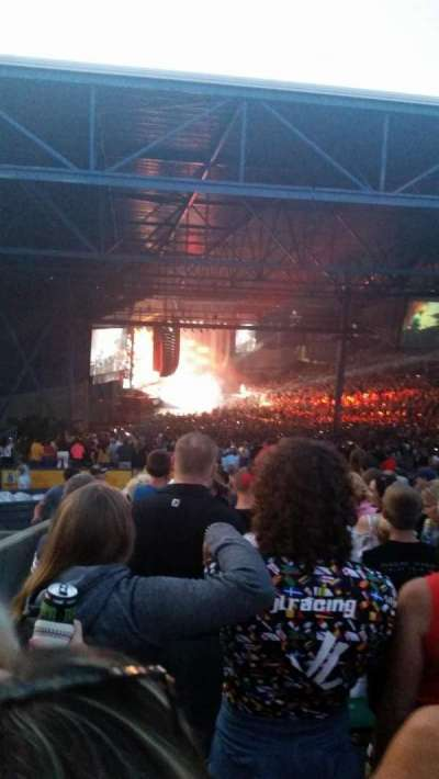 American Family Insurance Amphitheater, section: 21, row: CC, seat: 29