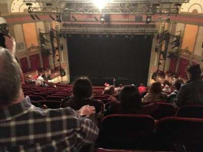 Neil Simon Theatre section Mezzanine C
