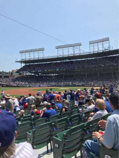 Wrigley Field, section: 108, row: 7, seat: 102