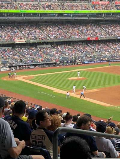 Yankee Stadium, section: 211, row: 18, seat: 20
