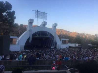 Hollywood Bowl, section: K2, row: 5, seat: 104-105