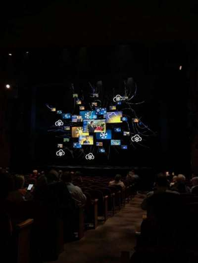 August Wilson Theatre, section: Orchestra Right, row: Q, seat: 2